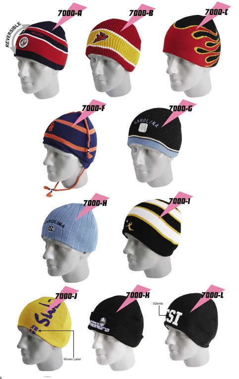 Knit Cap Samples